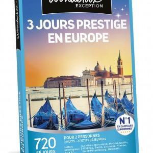 Box séjour prestige en Europe