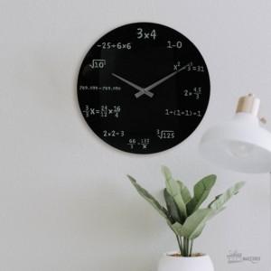 Horloge équations