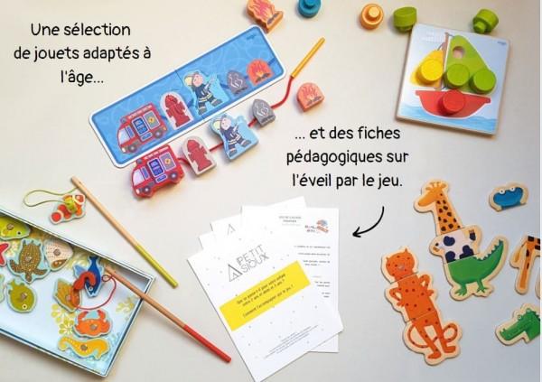 Location box pédagogique jouets