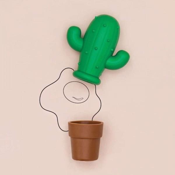 Séparateur d'œufs en forme de cactus