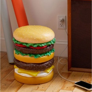Tabouret hamburger