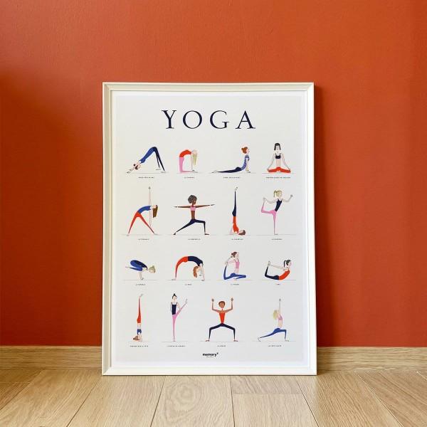 Affiche Yoga